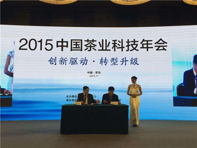 2015茶业科年在青岛举办